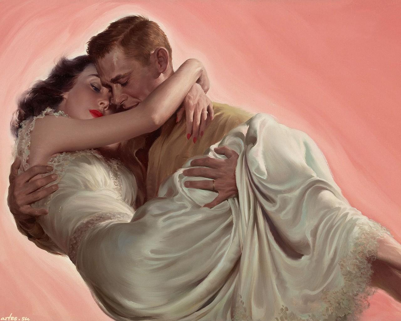 Фото открытки любовь мужчина женщина