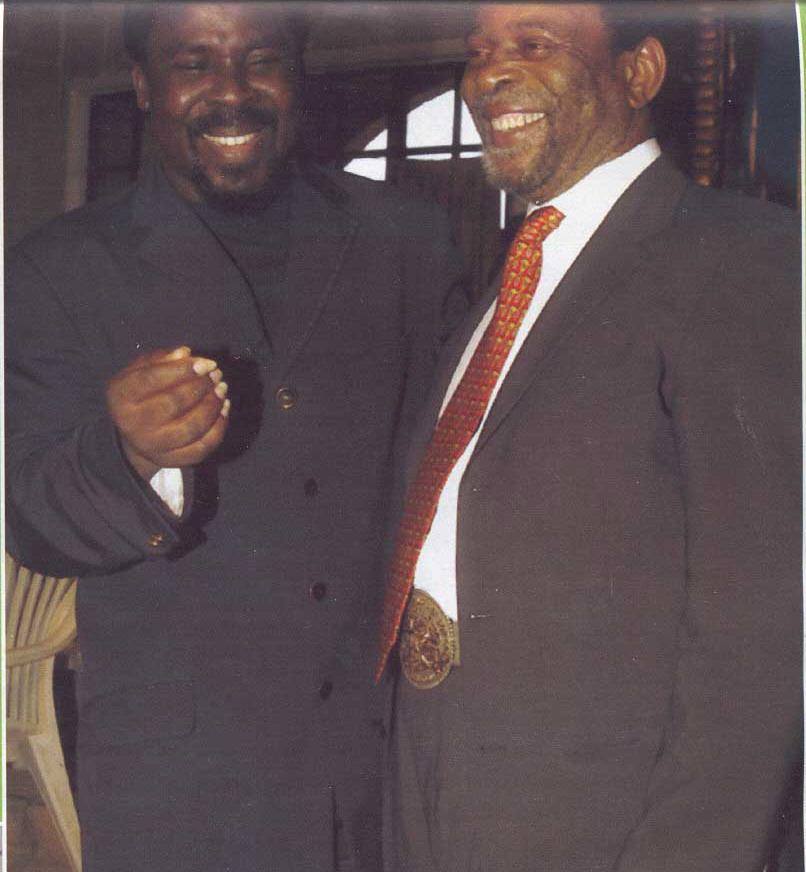 Пророк T.B. Joshua с Королём зулусов, Его Величество Кароль Goodwill Zwelithini из ЮАР