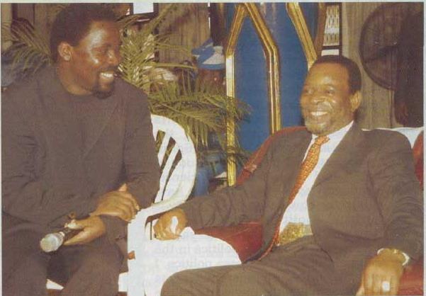 От сердца к сердцу - общение с Царём Зулусов
