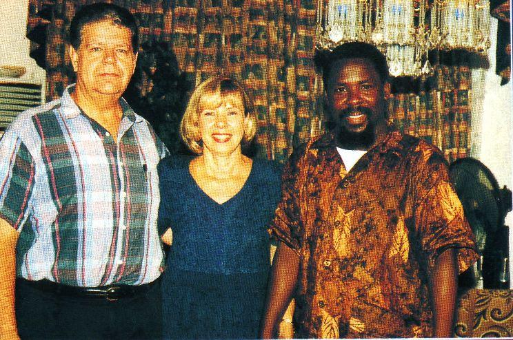 Пророк T.B. Joshua с пасторами John и Carol Arnott из Toronto Christian Fellowship
