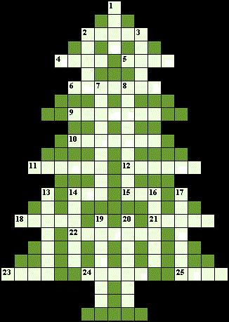 Он под елкой для подарка сканворд 7 букв 31