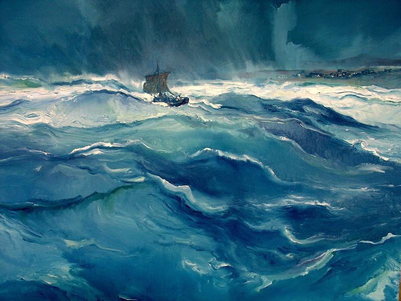 Лука 8: Шторм на озере