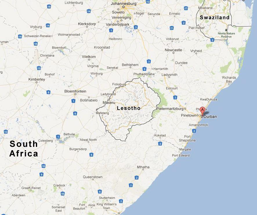 Пробуждение в Дурбан, Южная Африка