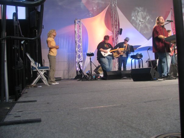 Melanie Fields, Josh Henderson, Austin Vespa, Roy Fields