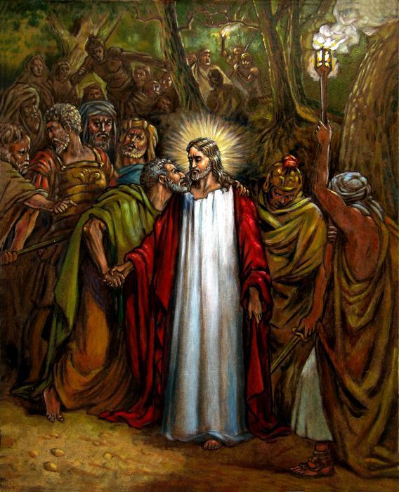 Jesus betrayed