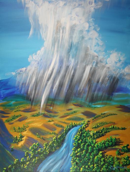 Мой дождь, Моя река