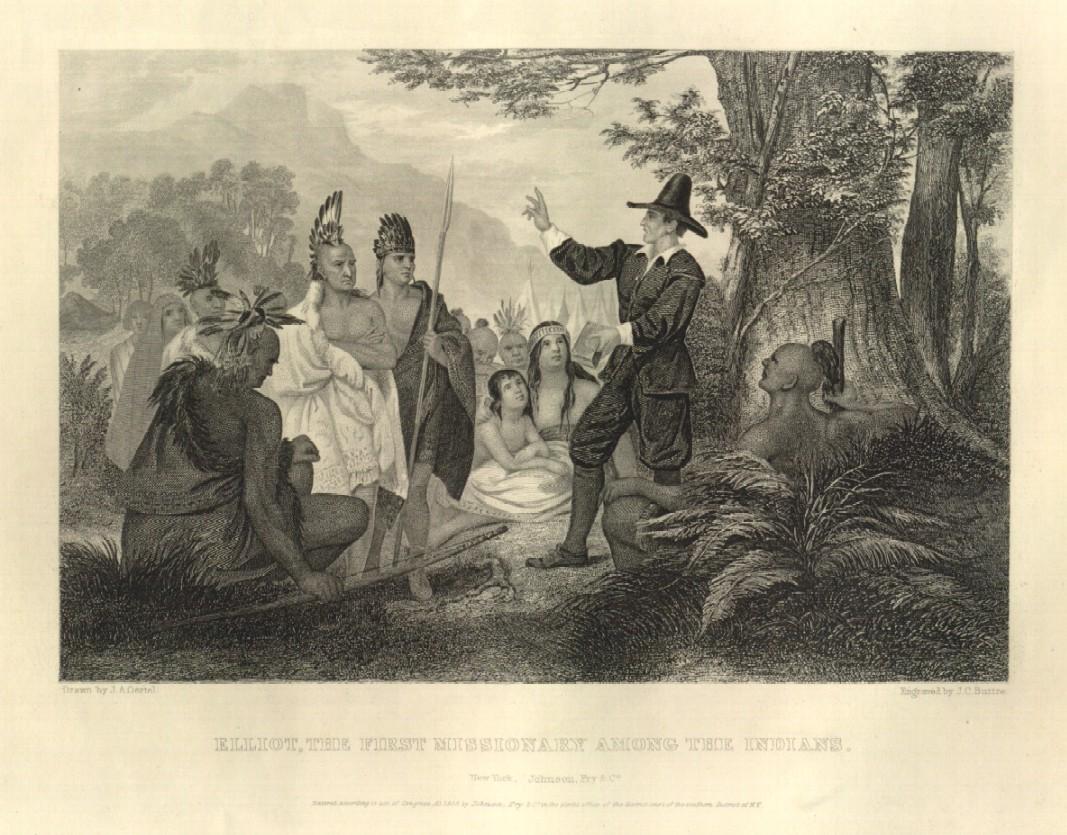 Эллиот - первый миссионер среди индейцев