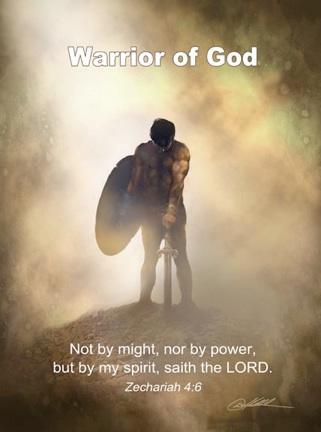 Не воинством и не силою, но Духом Моим, говорит Господь Саваоф (Захария 4:6)